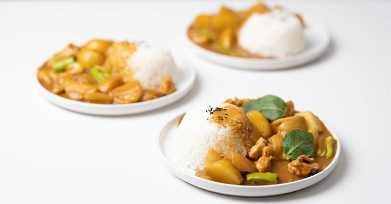 Rezept für Kürbis Curry