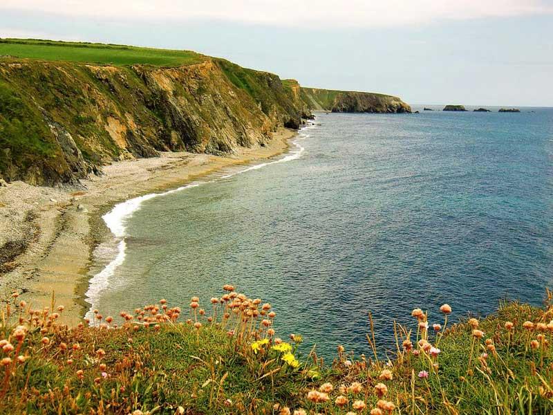 Annestown Beach an der Copper Coast in Irland