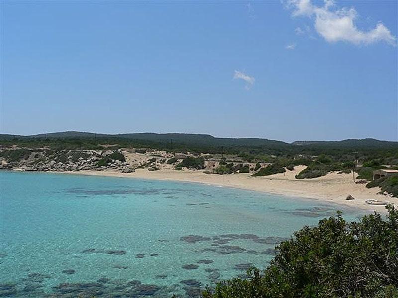 Golden Beach auf der Karpaz Halbinsel Zypern