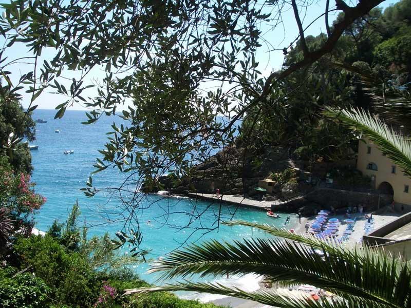 San Fruttuoso Halbinsel Portofino-Italien