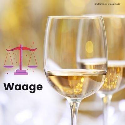 Sauvignon blanc für die Waage ©Shutterstock_Africa Studio