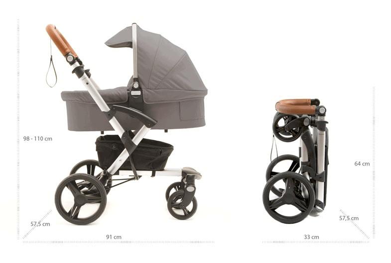Intuitive Handhabung beim Bonavi Kinderwagen