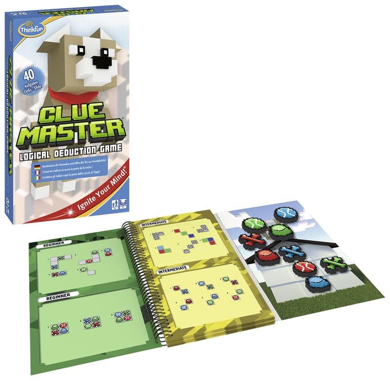 Tolles Logikspiel für Kinder: Clue Master von Thinkfun.