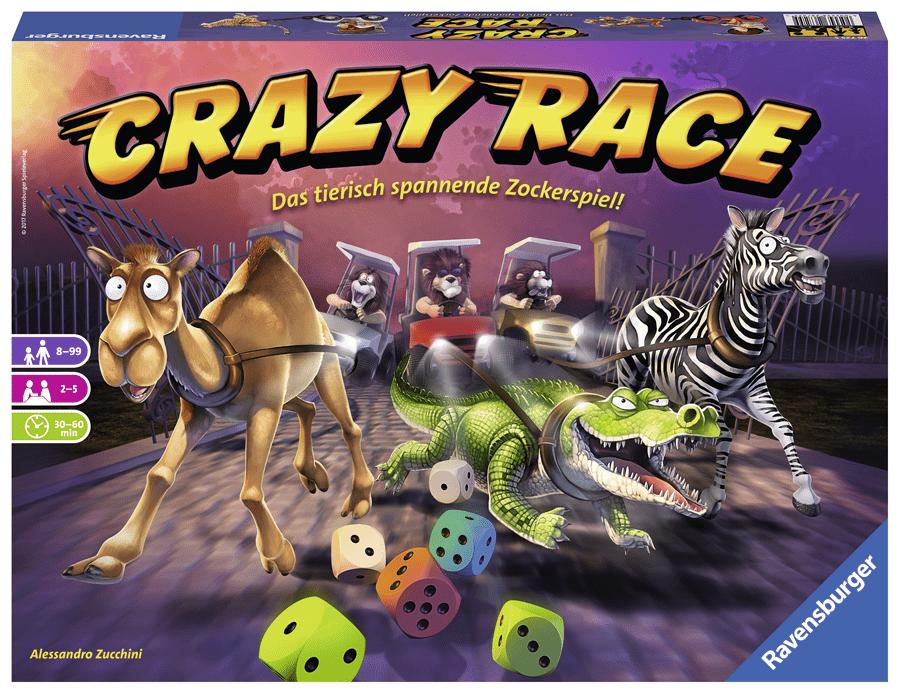 Tierisches Wettrennen bei Crazy Race