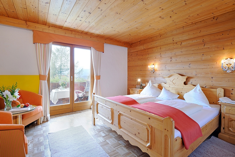 Doppelzimmer im Naturhotel Alpenrose