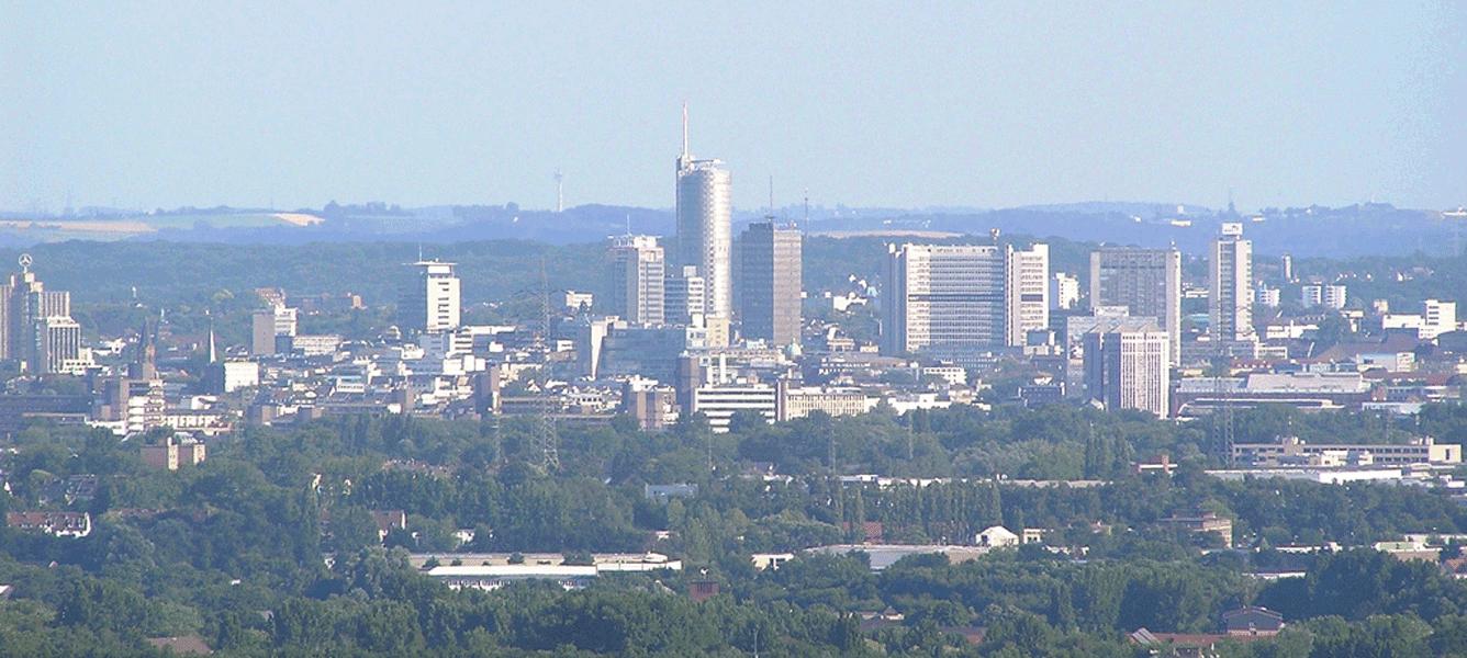 Essen-Panoramablick