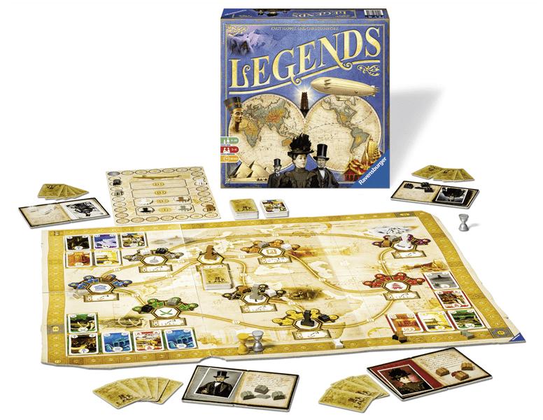Familienspiel Legends