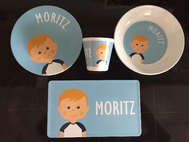 Littleli-Geschirrset für Moritz