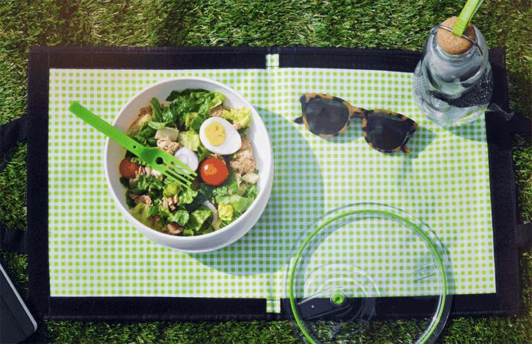 Bunt und fröhlich: Picknickgeschirr