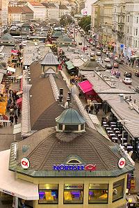 Pflicht für jeden Wienbesucher: der Naschmarkt