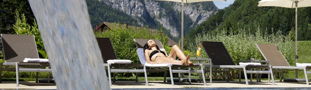 Pool ©Sonne Lifestyle Ressort Mellau