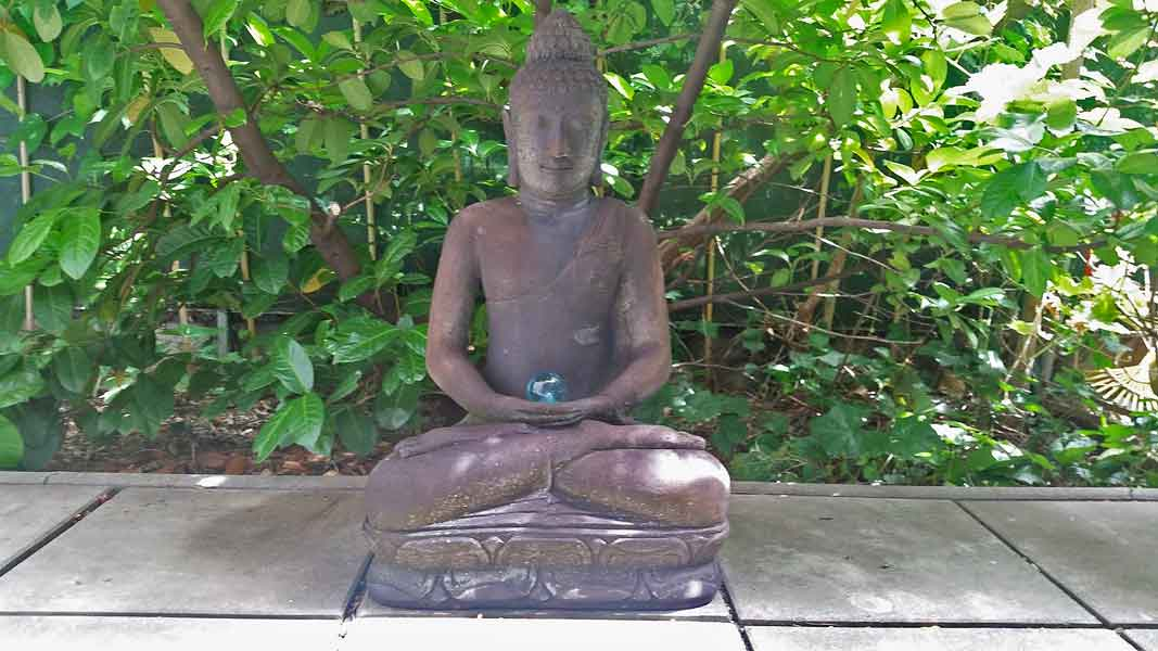 Der Buddha - Hilfsmittel bei der Chakra-Therapie