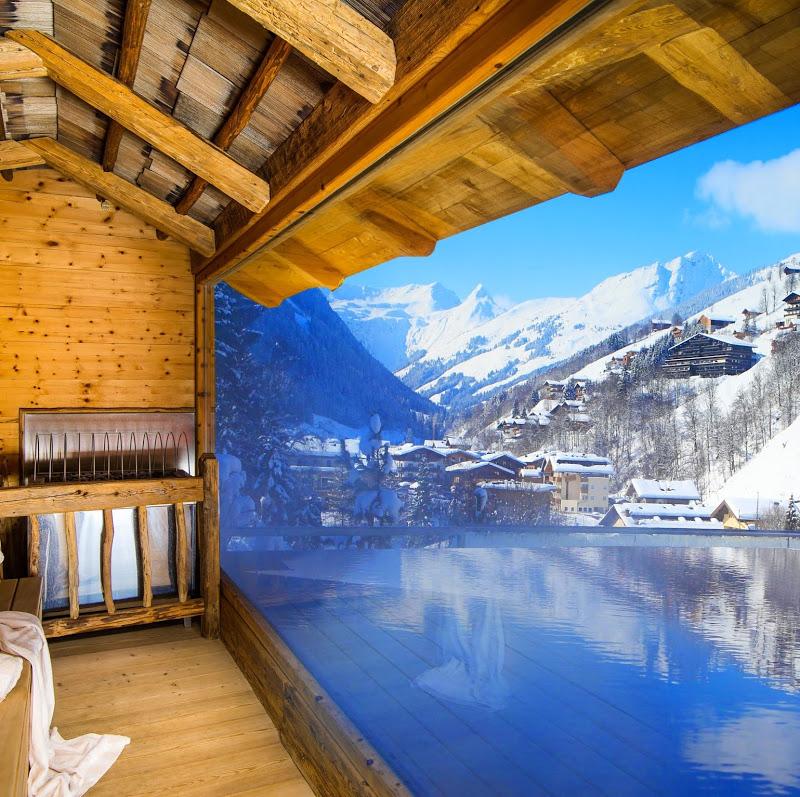 Panorama Sauna im Alpin Juwel