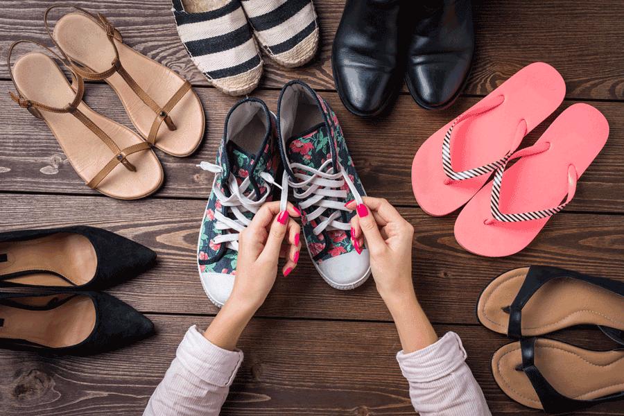 Die Qual der Wahl: welche Schuhe zu welchem Outfit?