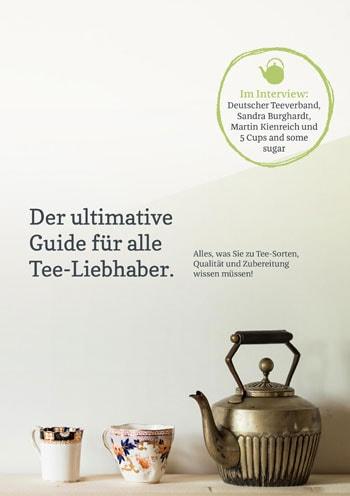 """E-Book """"Der ultimative Guide für alle Tee-Liebhaber"""""""