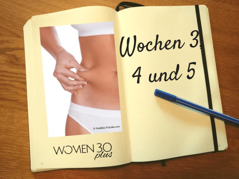 Mach dich leicht Abnehmprogramm im Test: Woche 3-5