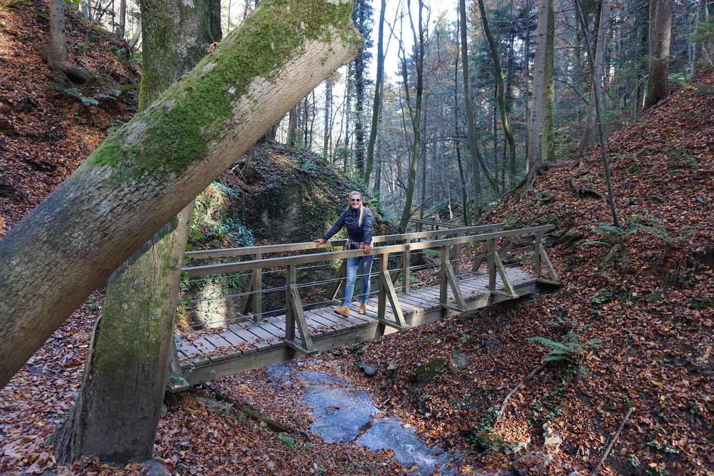 Ausflug in die Alpenbachklamm © Heike Wallner