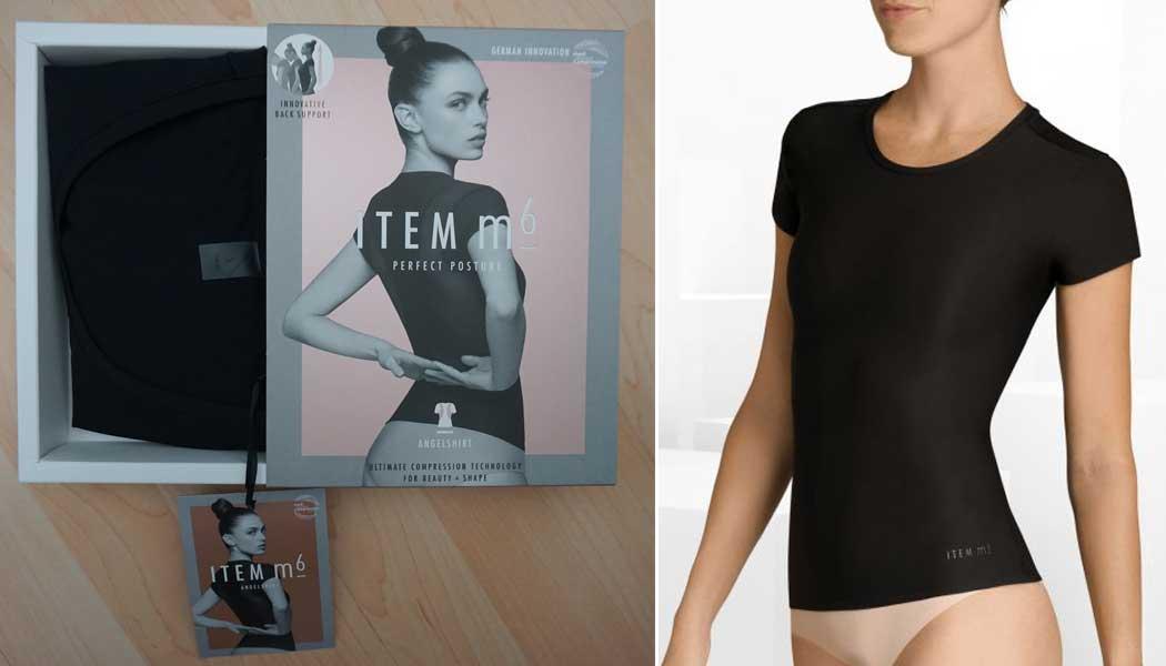 Rückensupport mit dem Athleisure Angel Shirt von ITEM m6