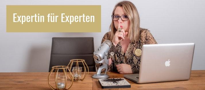 Angelika ist auch als Expertenflüsterin bekannt.