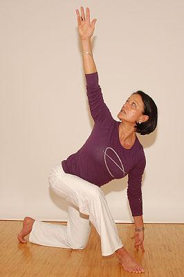 Suzanna König beim Antara-Training; © Suzanna König