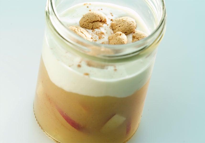 Schnelle Rezepte fürs Büro: Apfelcreme