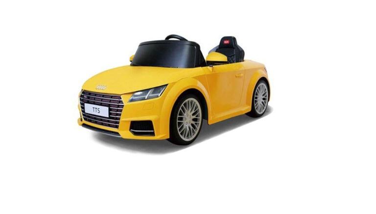 Kinder-Elektroauto Audi TTS im Women30plus-Test