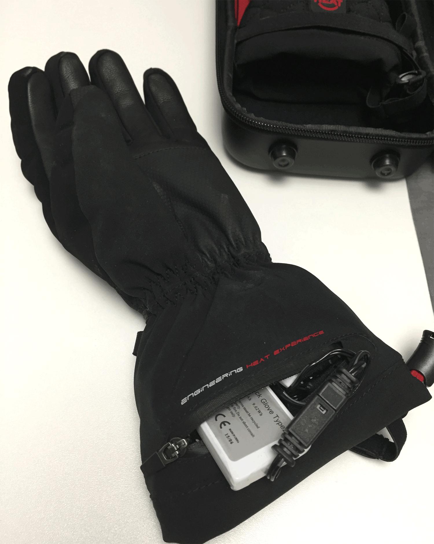 Die beheizbaren Handschuhe im Test
