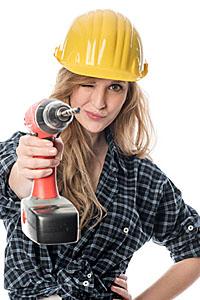 Selbst Frauen in harten Männerberufen müssen heute oft nicht mehr auf unförmige Bekleidung zurückgreifen. Praktisch UND feminin heißt die Devise.; Bildquelle: von Lieres - Fotolia.com