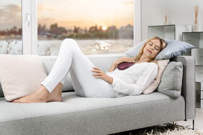 Entspannung durch Atemtraining mit dem Beurer stress releaZer