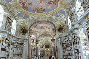 Bibliothek in Stift Admont