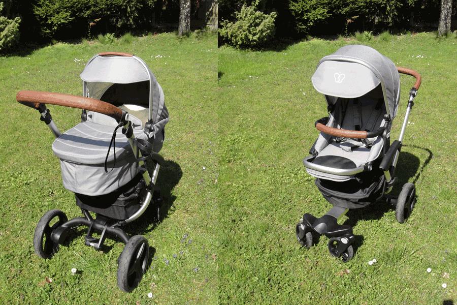 Bonavi Kinderwagen mit Liegewanne und mit Sportsitz