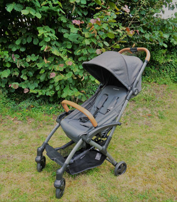 Schnell aufgebaut ist der Buggy von Maxi Cosi einsatzbereit.