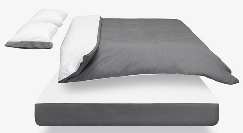 Passendes Bettwäsche-Set für die Casper Matratze