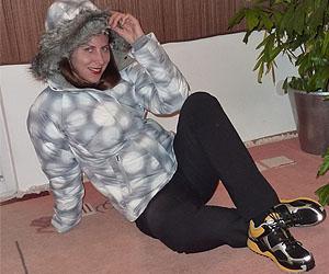 Lisa Grüner in einem Outfit von Columbia Sportswear; Bildquelle: privat