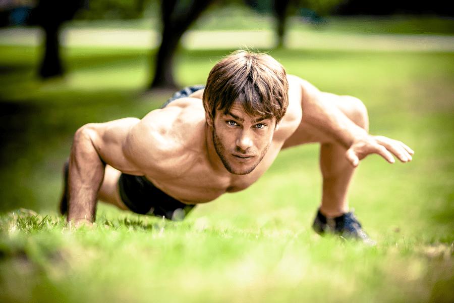 Fitness-Trend Crunning