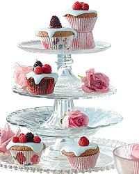 Für extra süße Cupcakes - Papierförmchen in rot-weiß; Bildquelle: Impressionen