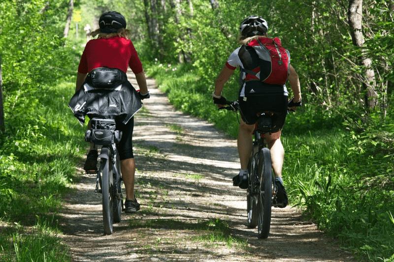 """Durch Radfahren werden Kondition und Wohlbefinden auf die """"sanfte Tour"""" gestärkt"""