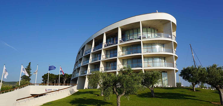 Das D-Resort Sibenik an der dalmatinischen Adriaküste