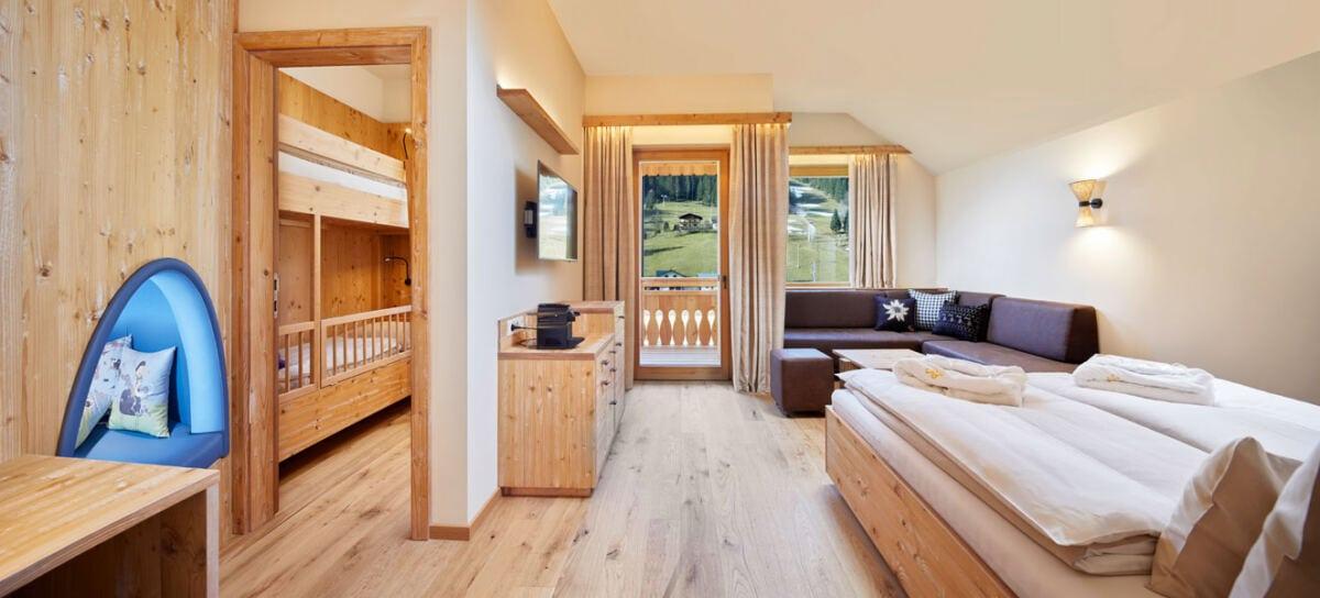 Geräumige Familien-Suiten im Leading Family Hotel & Resort Dachsteinkönig