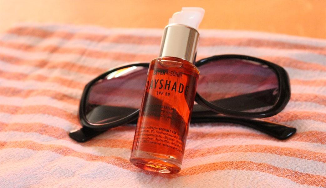 Sonnenschutzfluid Dayshade im Beauty-Test