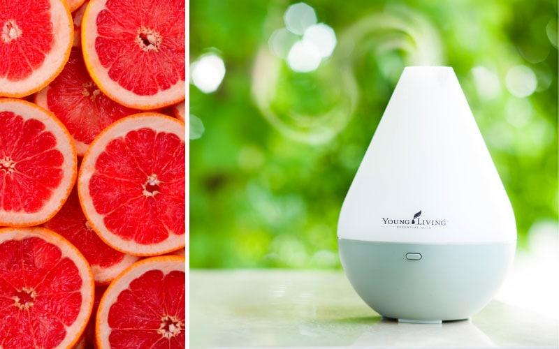 Grapefruit-Öl im Diffusor ©Young Living