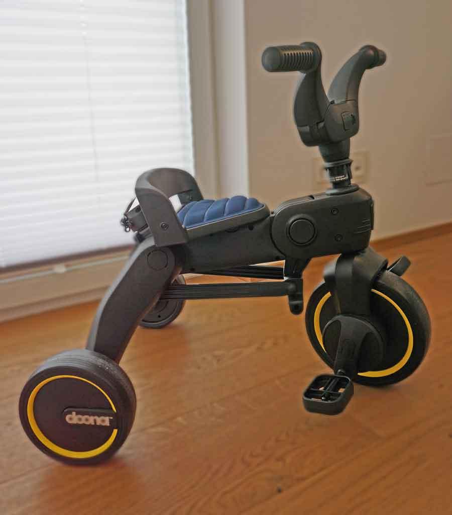 Ganz einfach zusammengebaut - das Dreirad Liki Trike © Heike Wallner