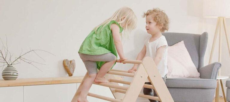 Klettern und Spielen mit Produkten von Ehrenkind