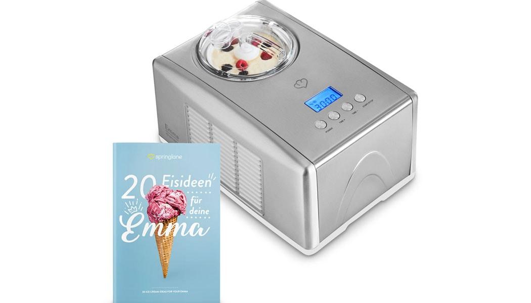 Wir haben die Eismaschine Emma von Springlane getestet.