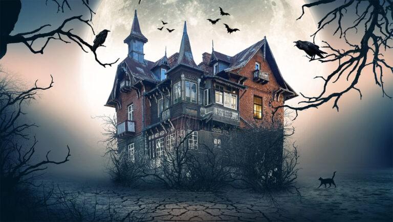 Gruseliges Escape-Spiel für Halloween