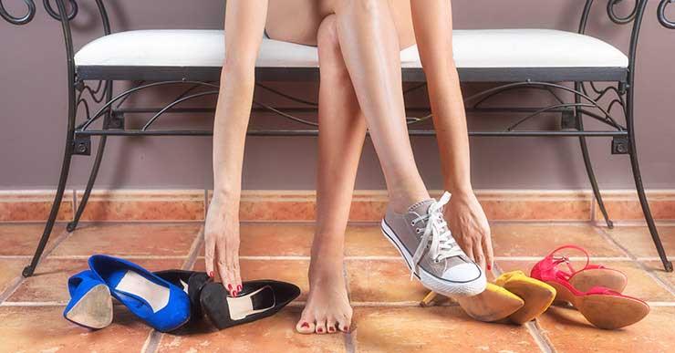 Die Qual der Wahl - welche Schuhe sind die richigen für mich? © Vamos