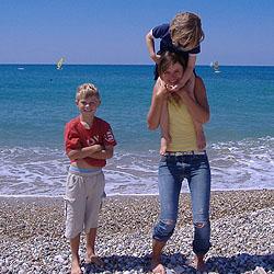Eine Journalistin berichtet von ihrem Familienurlaub auf Korfu