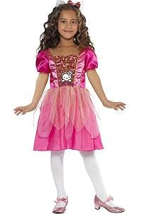 Prinzessinnen-Kostüm im Hello Kitty Design; © karneval-megastore.de