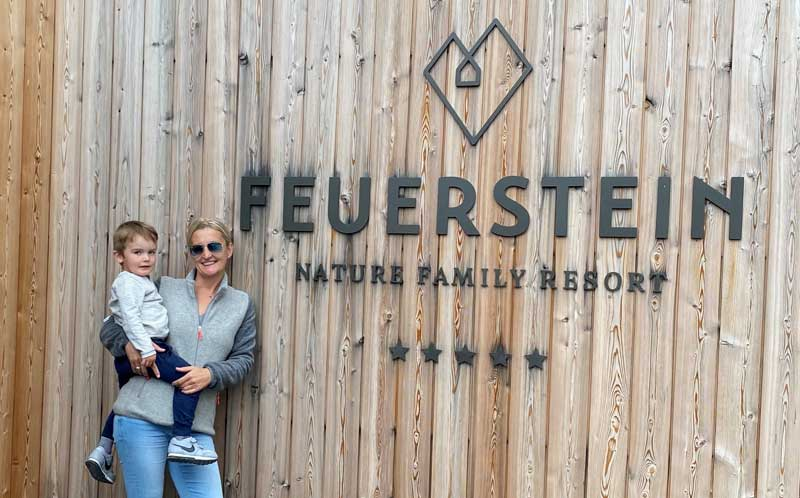 Wir haben das Feuerstein Nature Family Resort getestet. © Heike Wallner