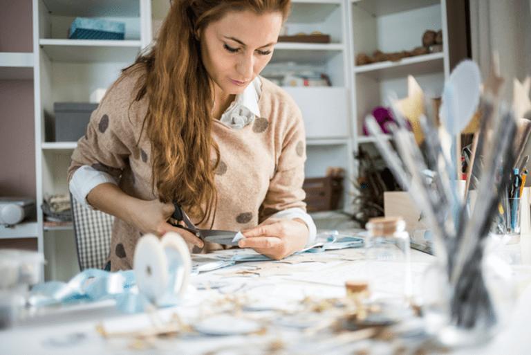 Hobby zum Beruf machen – mit Basteln Geld verdienen